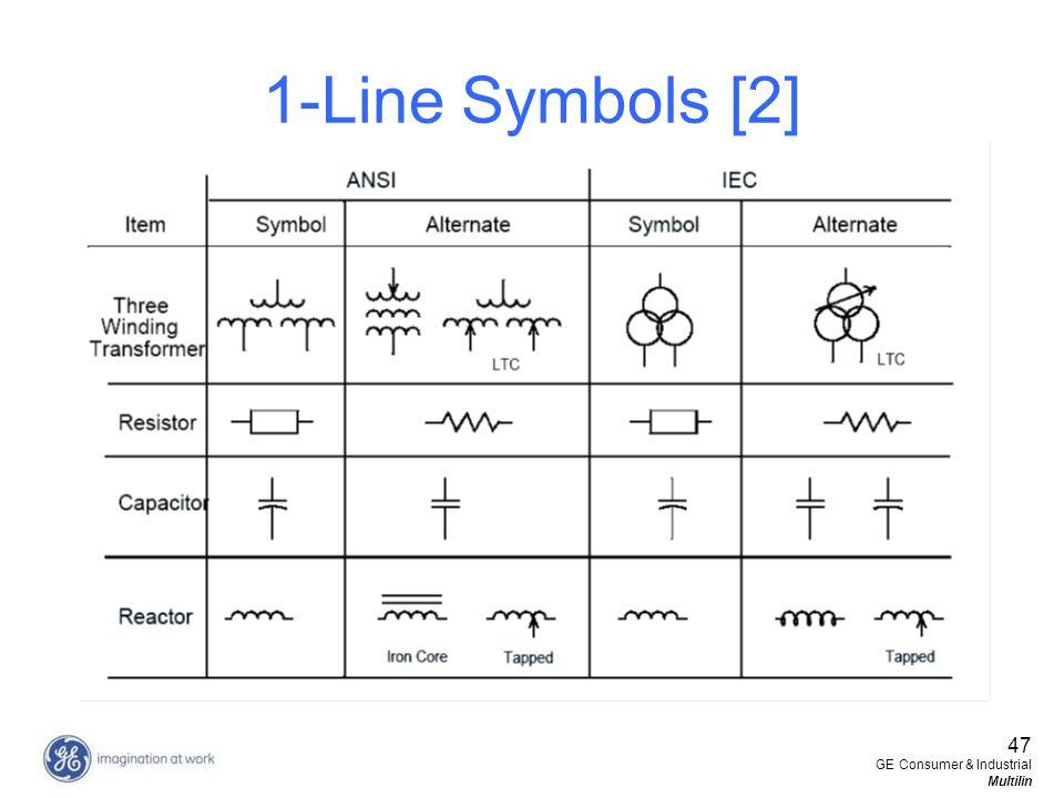 1-Line Symbols [2] 47 GE Consumer & Industrial Multilin